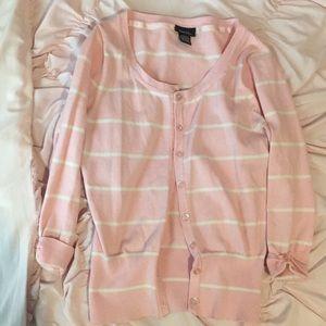 Pink rue 21 sweater size medium